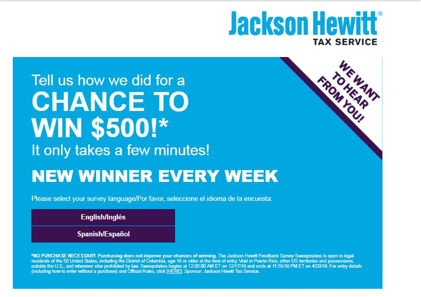 jackson hewitt survey