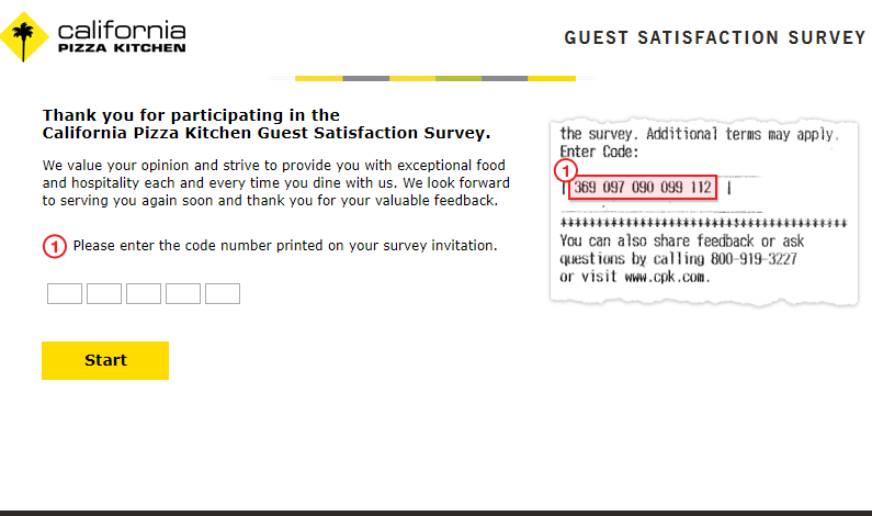 CPK Survey Homepage